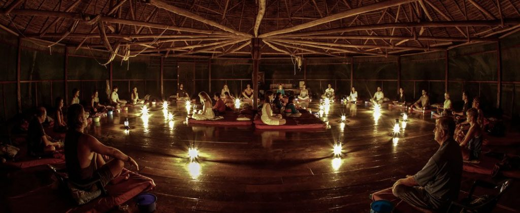 Picture of an Ayahuscua ceremony