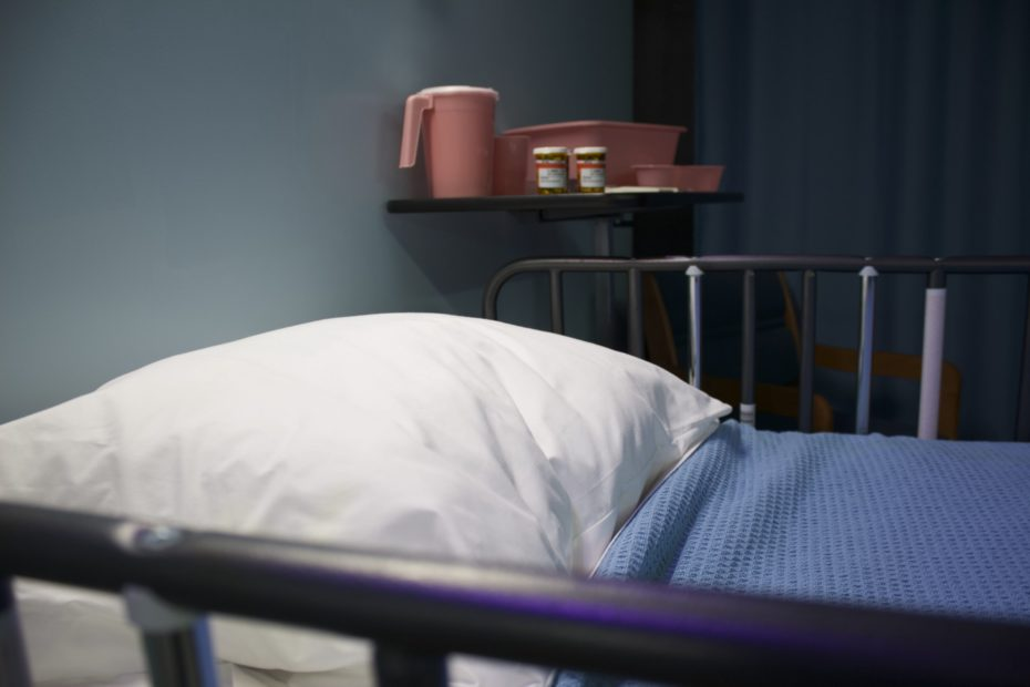 bed in hospital