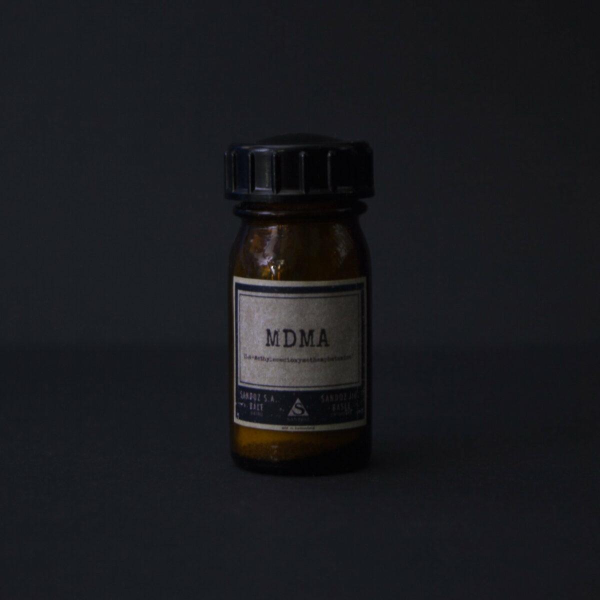 MDMA bottle